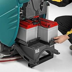 E50 TRAC plovimo mašina su dozavimo sistema