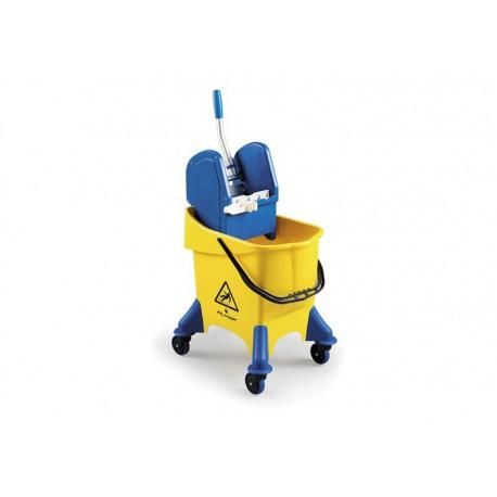JUMPY kibiras  su ratais, geltonas, 30 l.