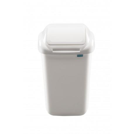 Šiukšliadėžė su dangčiu Standard 50 L, balta