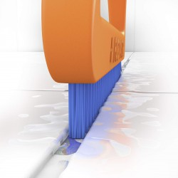 Fuginator šepetėlis plytelių tarpams, oranžinė/pilka