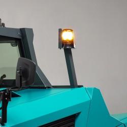 Pramoninė šlavimo mašina BULL 200 (dyzelinas)
