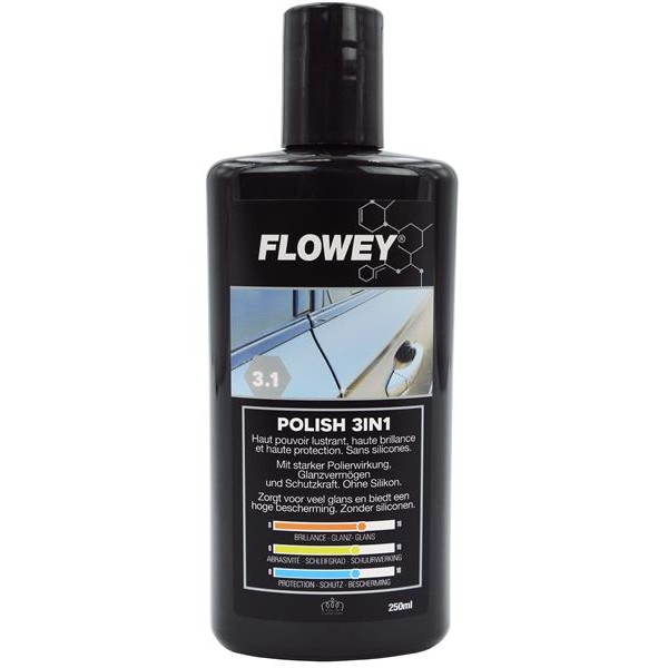 Flowey automobilio poliravimo priemonė