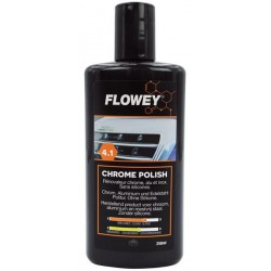 Flowey chromuotas automobilio poliruoklis