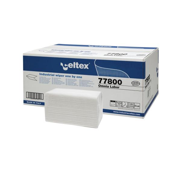 Popierinės servetėlės OMNIA LABOR, 2 sl., celiuliozė, 300 lapelių, 1 dėž. x 8 vnt.