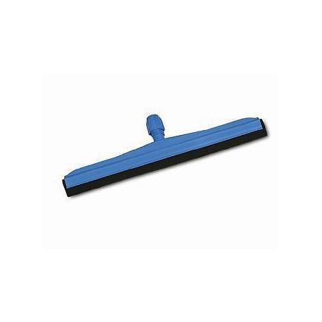 Plastikinis grindų nubrauktuvas su juoda guma 45 cm