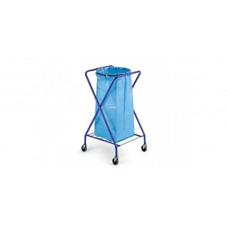 X formos šiūkšlių maišo vežimėlis, 120 l.