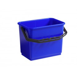 Mėlynas stačiakampio formos kibiras, 12 L