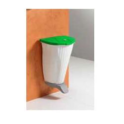 Kabinama šiukšlių dėžė OYSTER, žalias  dangtis,50 L