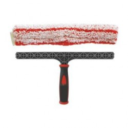 Langų šluostė su laikikliu 25 cm