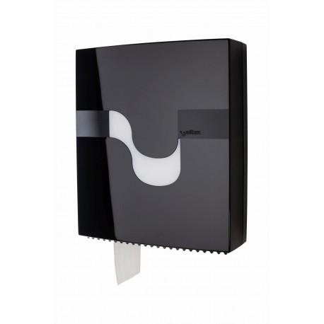 Tualetiniam popieriui MINI JUMBO, juodas laikiklis