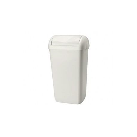 Šiukšlių dėžė, balta, 23 L
