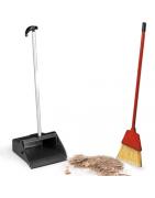 Semtuvėliai ir šiukšlių surinkimo priemonės